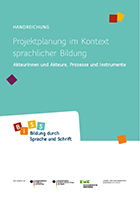 BiSS-Handreichung-Projektplanung-Cover